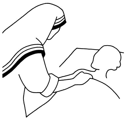 MèreTeresaMalade