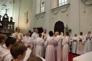 Bénédiction par notre évêque