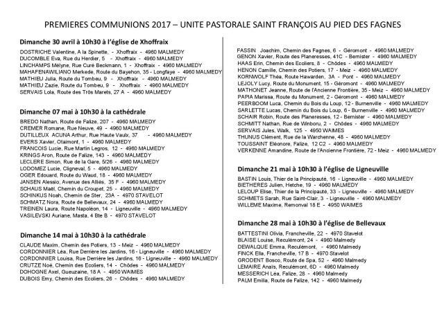 Liste des premières communions 2017 à publier-page-001