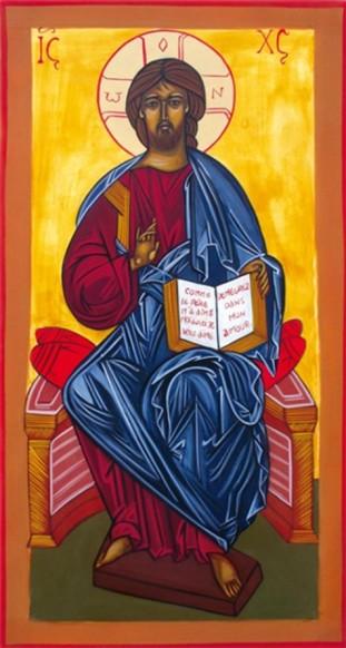 icône christ roi